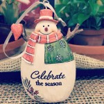 Happy Holidays! Celebratetheseason christmasornament snowman