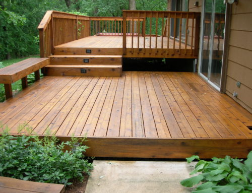Its Staining Season – products for cleaning and staining