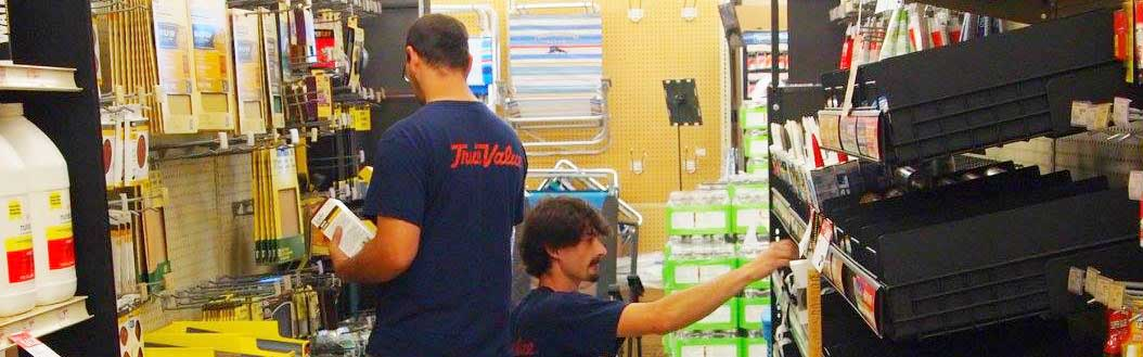 Duvall Hardware has a large selection of goods and services.