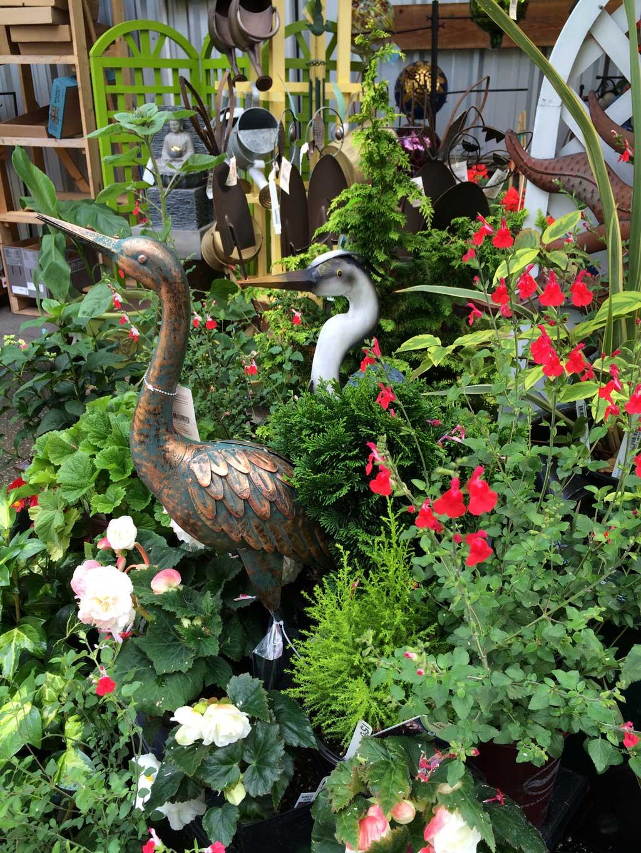 Herons Garden Art