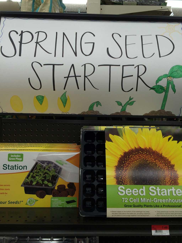 Spring Seed Starter Kit