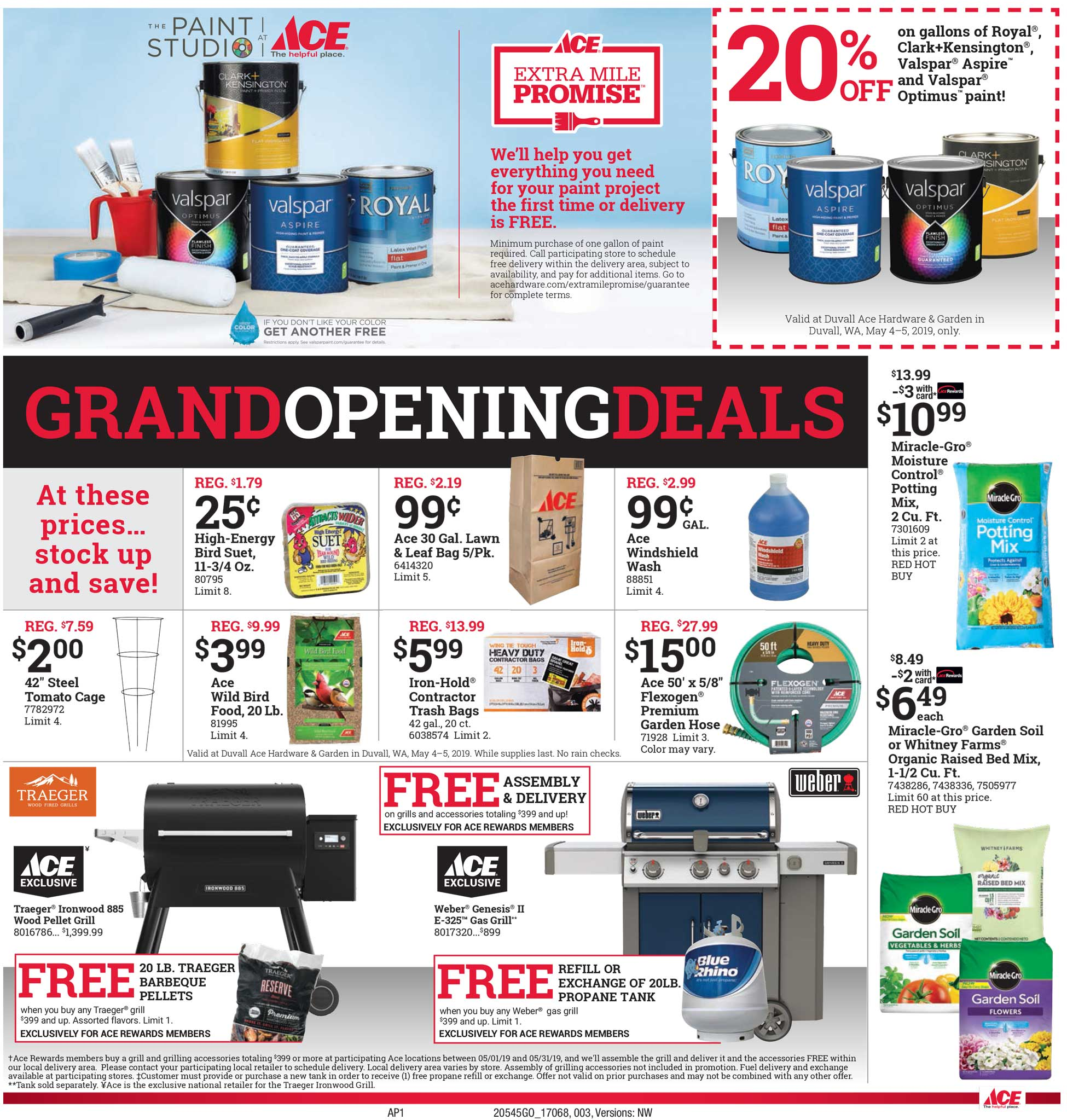 Ace Grand Opening Deals