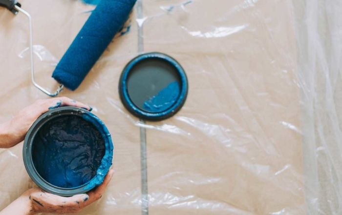 store leftover paint