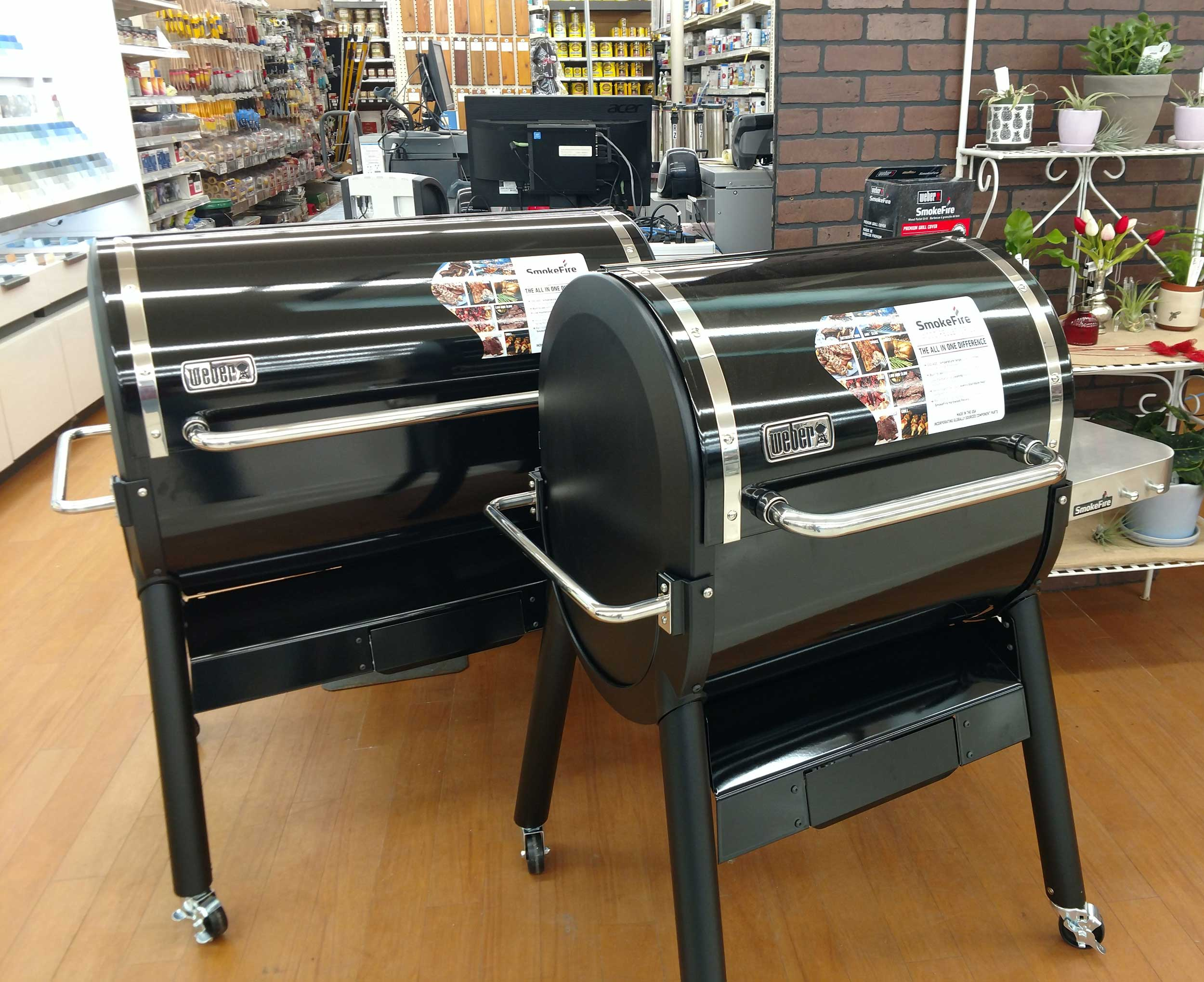 New Weber Smokefire Series