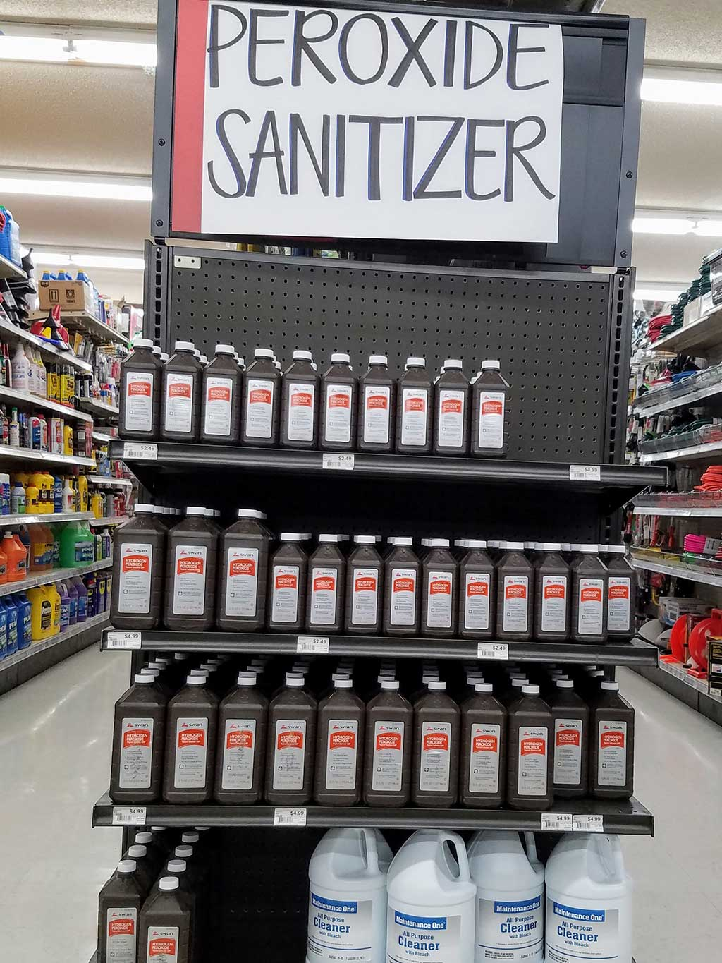 Peroxide Sanitizer