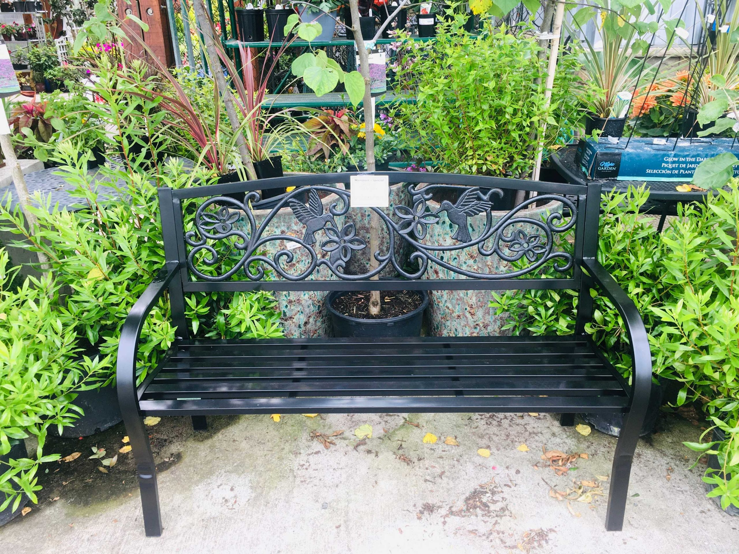 Garden Bench On Sale