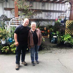 Mat Higgins and Liz Schwartz