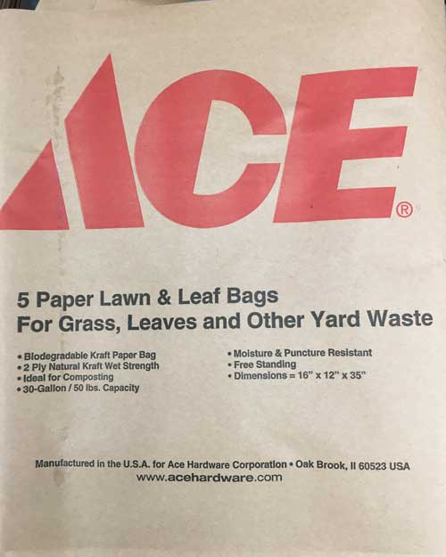 Ace Paper Leaf Bags