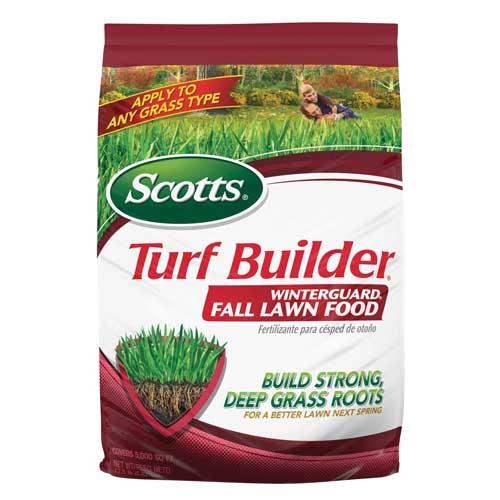Scotts winter fertilizer