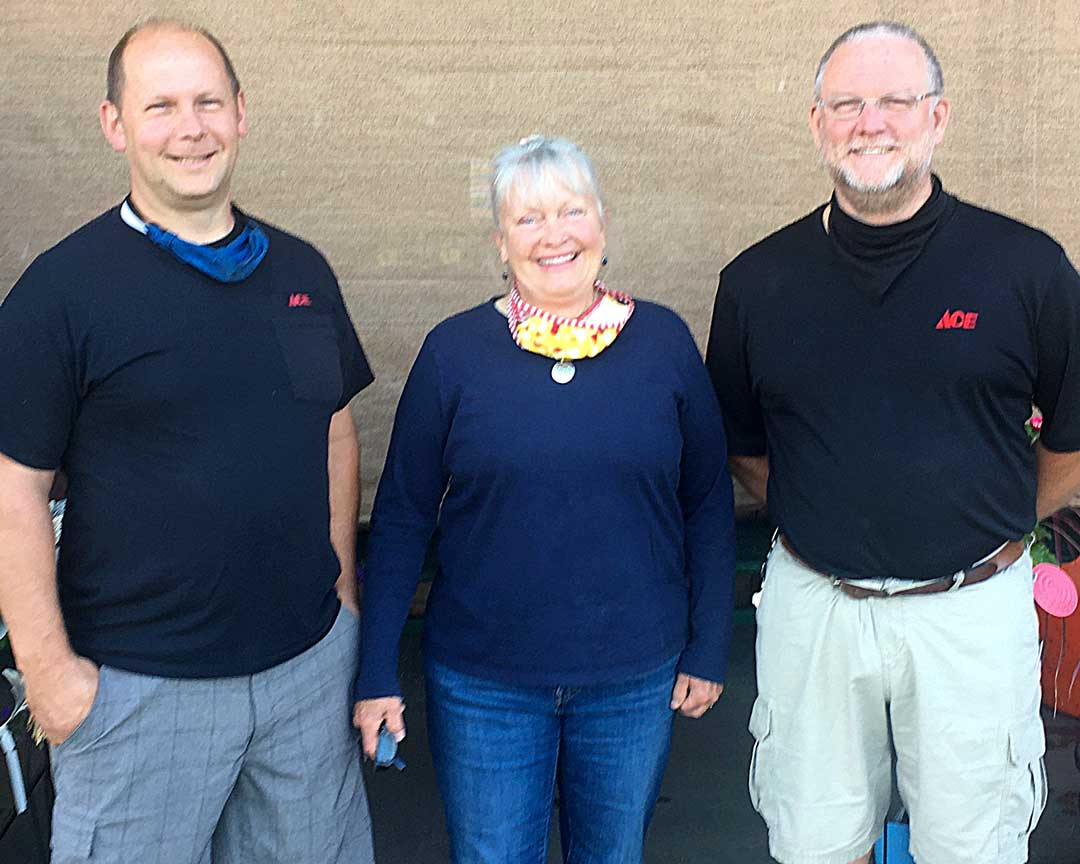 Mat Higgins, Liz Schwartz, Bill McClansburgh