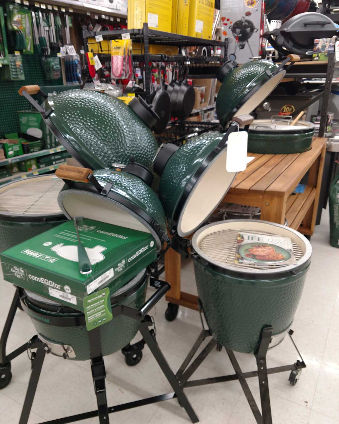 Big Green Egg Grills In Stock